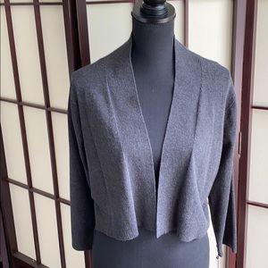 Calvin Klein Silk/Rayon Shrug 3/4 Sleeves NWT